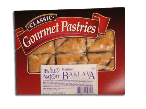 Baklava Walnut Fillo Factory 12 pcs (22oz)