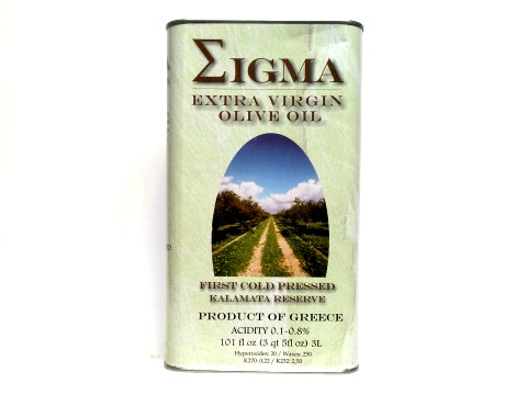 Sigma Extra Virgin Olive Oil 3L