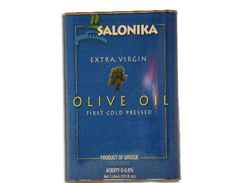 Olive Oil X-Virgin  Salonika  3 liter tin