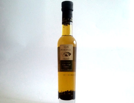 Pons Mas Portell Basil Infused Extra Virgin Olive Oil