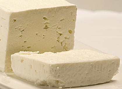Feta Cheese (Cow's Milk) Vac-Pack Salonika  per lb.