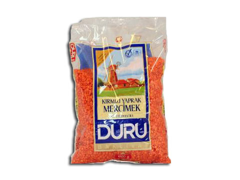 Red Split Lentils Duru 1kg