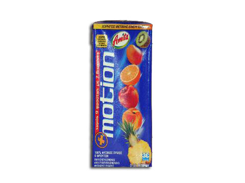 Motion Fruit Juice Amita 330ml