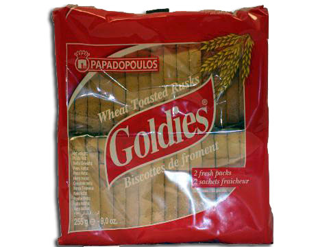 Goldies Wheat (Friganies) Papadopoulos 255g