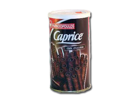 Caprice Wafers w/Dark Chocolate Cream Papadopou...